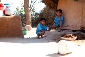 Meninos dalits no Rajastão (Malteser International / Carmen Wolf)