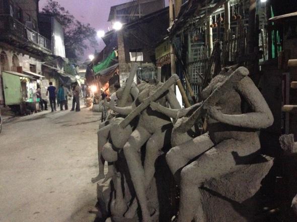 Kumartuli, o bairro dos escultores