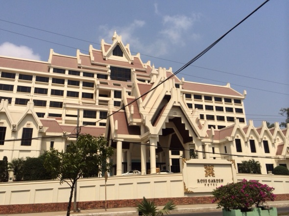 Hotelão em Yangon